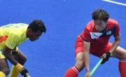 韩国男子曲棍球以8比0击败斯里兰卡队